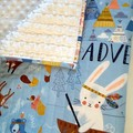 Baby quilts, baby blankets, baby boy quilts, woodland theme,