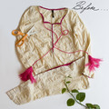 Size 0 Upcycled Embroidered Baby Dress