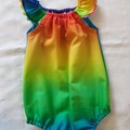 'Rainbow Baby' play suit