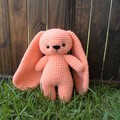 Crochet Bunny, Crochet Rabbit, Amigurumi Bunny, Amigurumi Rabbit, Plush Rabbit,