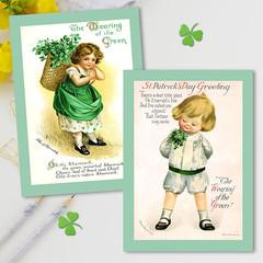 St. Patrick's Day Set 2 Cards