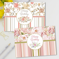 Roses Birthday Set 1 Cards