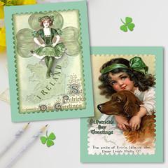 St. Patrick's Day Set 3 Cards