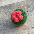 Cactus Pin cushion in pot Sewing accessories Fake plant Desk Decoration Sewing g