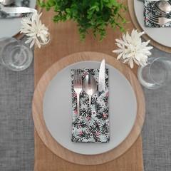 Table Decòr | Napkins | Woodland | Set of 4