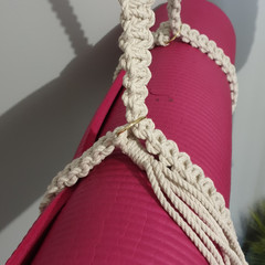 Yoga mat strap - adjustable
