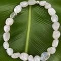 Moonstone Gemstone Beaded Bracelet