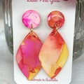 Sunset Resin dangle