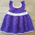 Crochet Dress - 12-18 months