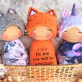 Personalised Foxy, Uni or Kitty Boo Doll.