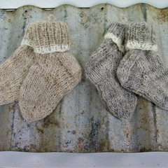 Pure Wool Handspun Toddler Sox