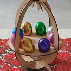 MDF DIY 3mm Easter Egg Holder