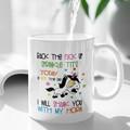 Rude Funny Unicorn Shank You Cup Ceramic Personalised Coffee Tea Mug - CM026