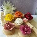 Paper Flower Magnet Set