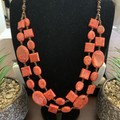 Red Jasper Double Stranded Necklace