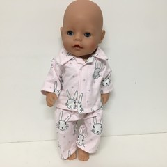 Dolls  Easter Pajamas to fit Cabbage Patch and Baby Born Dolls