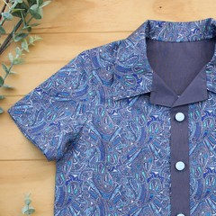 Paisley Perfection - Boy's Button up Shirt - Size 5