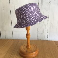 Baby Bucket Hat - Purple Rain - 6-12 months