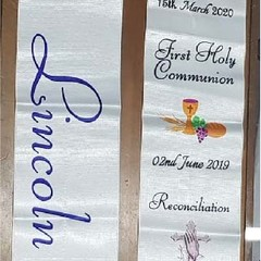 PERSONALISED ⁄ CUSTOMIZED SACRAMENTAL STOLES FOR BAPTISM, FIRST HOLY COMMUNION A