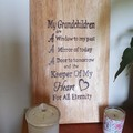 Grandparents Love Cutting Board - Made to Order