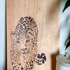 Leopard Cutting Board
