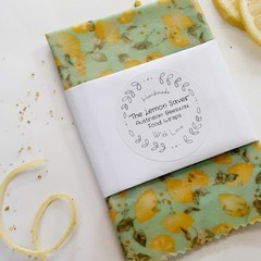 Oraganic Australian Beeswax Pine Resin Wraps - The Lemon Saver