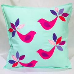 Peacock Cushion cover