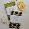Organic Australian Beeswax Pine Resin Wraps - The Saver Gift Set Avocado & Lemon