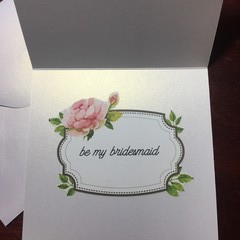 Bridesmaid Cards Shimmer Bridal Party Proposal, Flower Girl, Bridal Party Cards