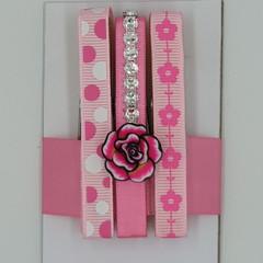 Flower peg magnet