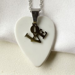 White Love pendant