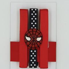 Spiderman peg magnet