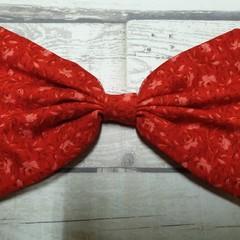 Fabric Bow Hairclip