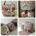 Keep Cup Carry bag - Coffee or Tea with Koala - Mothers Day