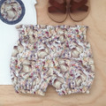 Bubble Shorties - Cream Bunnies - Bloomers -Easter -