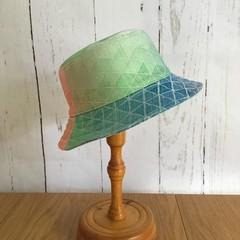 Toddler Bucket Hat - Tangent Technicolour - 2-3 years