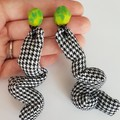 Small Squiggle earrings