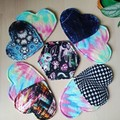 Made to order (custom) - Breastpad/cupspot/coaster x2 (Heart Shaped)