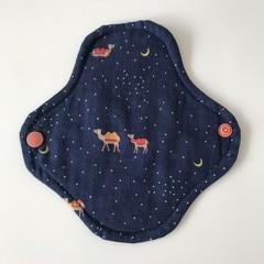 Cloth pad -Liner [Camel]