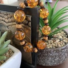 Resin Wooden Bracelet