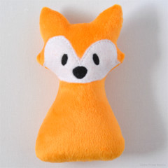Soft Fox Rattle Orange