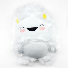Snowy White Yeti Rattle