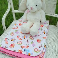 Flannel Baby BlanketBugs & Butterflies
