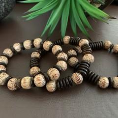 3 Piece Wooden Bracelet Set