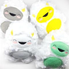 Snowy Yeti Rattle