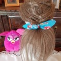 """Ariel"" Girls Hair Bow Elastic"