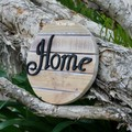 Home  Reclaimed Timber Sign