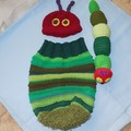 Baby Cocoon, Beanie and Soft Toy/ Photo Prop