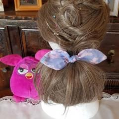 """Ballet Shoes"" Girls Hair Bow Elastic"