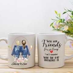 Best Friends Mug, Sisters by Soul Mug, Personalised Mug,  BFF Mug, Bestie Mug,